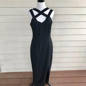 Carole Little Little Black Dress Full Length